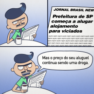 Aderbal comentando o Jornal